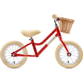 """Creme Mia Rowerek biegowy 12"""" Dzieci, czerwony"""